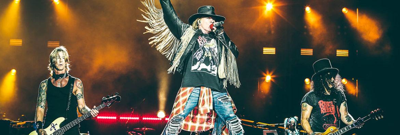 Próximamente Guns N' Roses en México