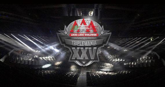 Triplemanía XXV; AAA Worldwide celebró su 25 Aniversario