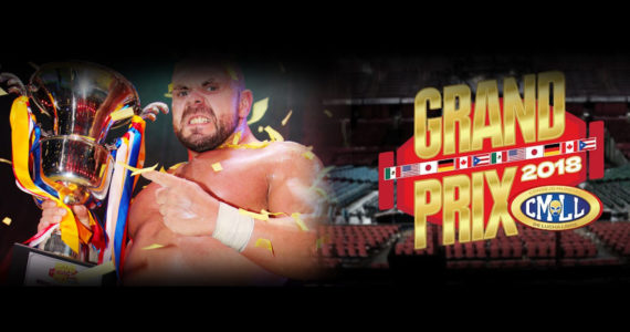 Michael Elgin se llevó el Grand Prix 2018 del CMLL